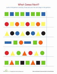 free patterns worksheets for 1st grade 359 recognizing patterns 2 pattern worksheet shapes worksheet kindergarten shapes worksheets