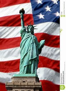 the statue of liberty an american symbol american symbols of freedom stock photo image of banner