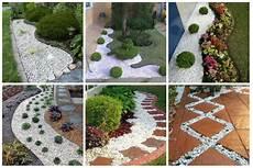 Diy Garten Dekoration Mit Wei 223 En Steinen Nettetipps De