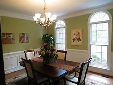 green and white wall color for dining room decorating with