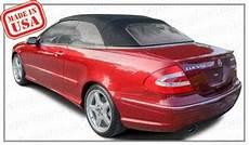 car manuals free online 2009 mercedes benz clk class security system 2004 thru 2009 mercedes benz clk chassis 209 convertible tops