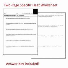 physical science specific heat worksheet 13107 ap chemistry big idea 5 specific heat and calorimetry worksheet