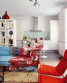 Colorful Flat Interior Design By Rivero In Madrid