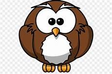 Burung Hantu Kartun Animasi Gambar Png