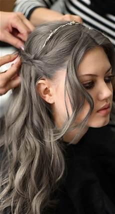 gray hair color trend 2014 fall winter 2014 hair color trends guide simply