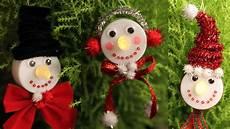 Snowman Tea Light Ornaments Cheap Easy