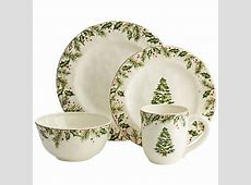 Winter's Wonder Dinnerware from Pier 1 Imports. Not sold
