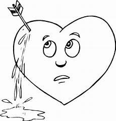 broken hearts coloring broken hearts coloring