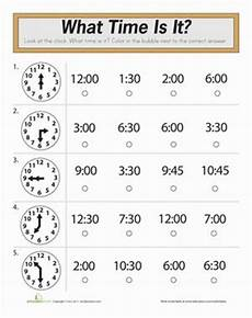 math worksheets for grade 1 time 3569 time quiz 1st grade math worksheets telling time worksheets