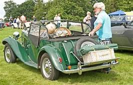 MG Sports Car At Ripley Castle Editorial Photo  Image
