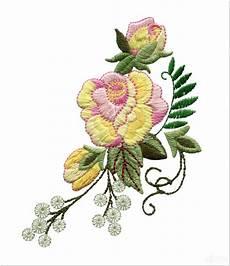 10 Motif Bordir Bunga Mawar Paling Keren