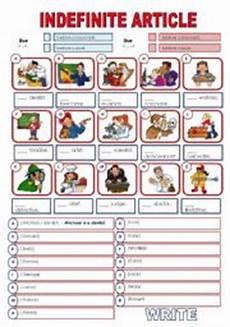worksheets on indefinite articles 18919 worksheets indefinite article and