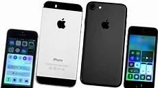 iphone 5s vs iphone 7 сравнение обзор iphone 5s на ios
