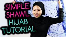 Simple Shawl Style 2 Tutorial 2015 By Hijab2go