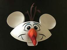 official disney parks exclusive olaf mickey mouse ears