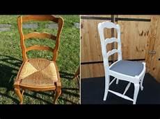 relooker une chaise moderniser une chaise de type louis xv en ch 234 ne et paille