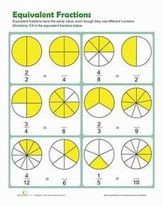 equivalent fraction worksheets grade 3 3916 equivalent fractions worksheet education