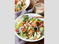 easy cajun chicken caesar salad_image