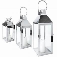 laterne edelstahl glas mit t 252 r metall windlicht