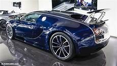 Bugatti 2015 Veyron Hyper Sport by Unique Blue Carbon Bugatti Veyron Sport Sold In