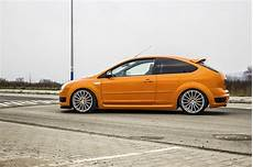 Ford Focus Mk2 St - electric orange ford focus st mk2 from poland ford focus