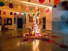 how to decorate home for diwali from waste materials
