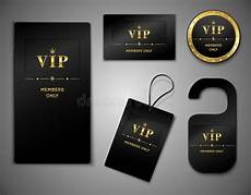 vip name card template vip cards design template stock vector image 44321860
