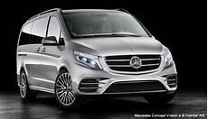 Mercedes Concept V Ision E Un Monospace Hybride Rechargeable