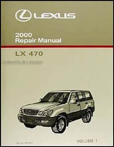 automotive service manuals 1998 lexus lx transmission control 2000 lexus lx 470 repair shop manual original 2 volume set