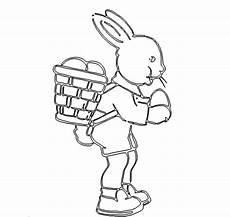 osterhase mit korb easter bunny with basket das