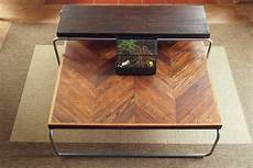 Tafel Selber Bauen - reclaimed chevron coffee table set the grain