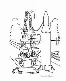 Raketen Malvorlagen Kostenlos Rocket Ship Coloring Page Coloring Home