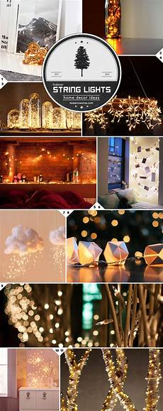 Home Decor Ideas With Lights by Home Decor Ideas Beautiful Ways To Use String Lights