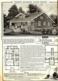 sears craftsman house plans sears vallonia from the 1916 catalog the original layout