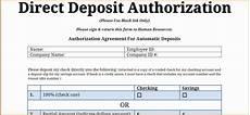 9 payroll direct deposit form template simple salary slip