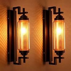 vintage loft american style retro glass wall l bedroom l outdoor wall light fixture l