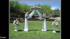 simple wedding arch decorating ideas youtube