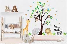 Nursery Wall Decals Safari Nursery Stickers Baby Room
