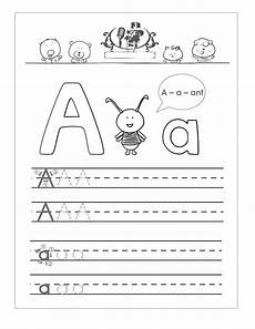 simple letter tracing worksheets 23931 trace the letter a worksheets activity shelter