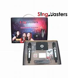 korean edition sm500 singmasters dual wireless microphones karaoke machine system 8364 korean