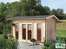 Gartenhaus 171 410x240cm Holzhaus Bausatz Mit Gro 223 Er