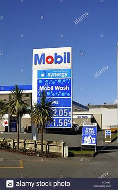 Mobile Garage New Zealand by Mobil Petrol Station Petone Wellington New Zealand