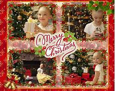 merry christmas collage make your christmas cards at home