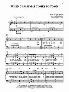 piano chords polar express when christmas comes to town from quot the polar express quot easy piano