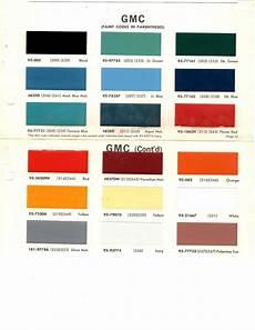 1964 1965 1966 1967 1968 1969 1970 gmc trucks pickup paint chips 18pc 68 dupont ebay gmc