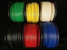 10 wire 15 100 ft black green blue white yellow power hook up stranded ebay