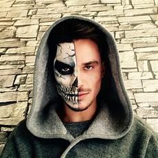 Maquillage Moiti 233 Visage Squelette Make Up En