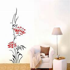 home decor decals large lotus flower wall stickers removable decals home