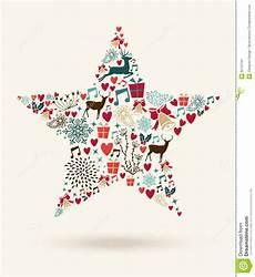merry christmas star shape illustration stock vector image 35741101