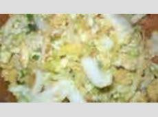 napa salad  chinese cabbage     no ramen noodles_image
